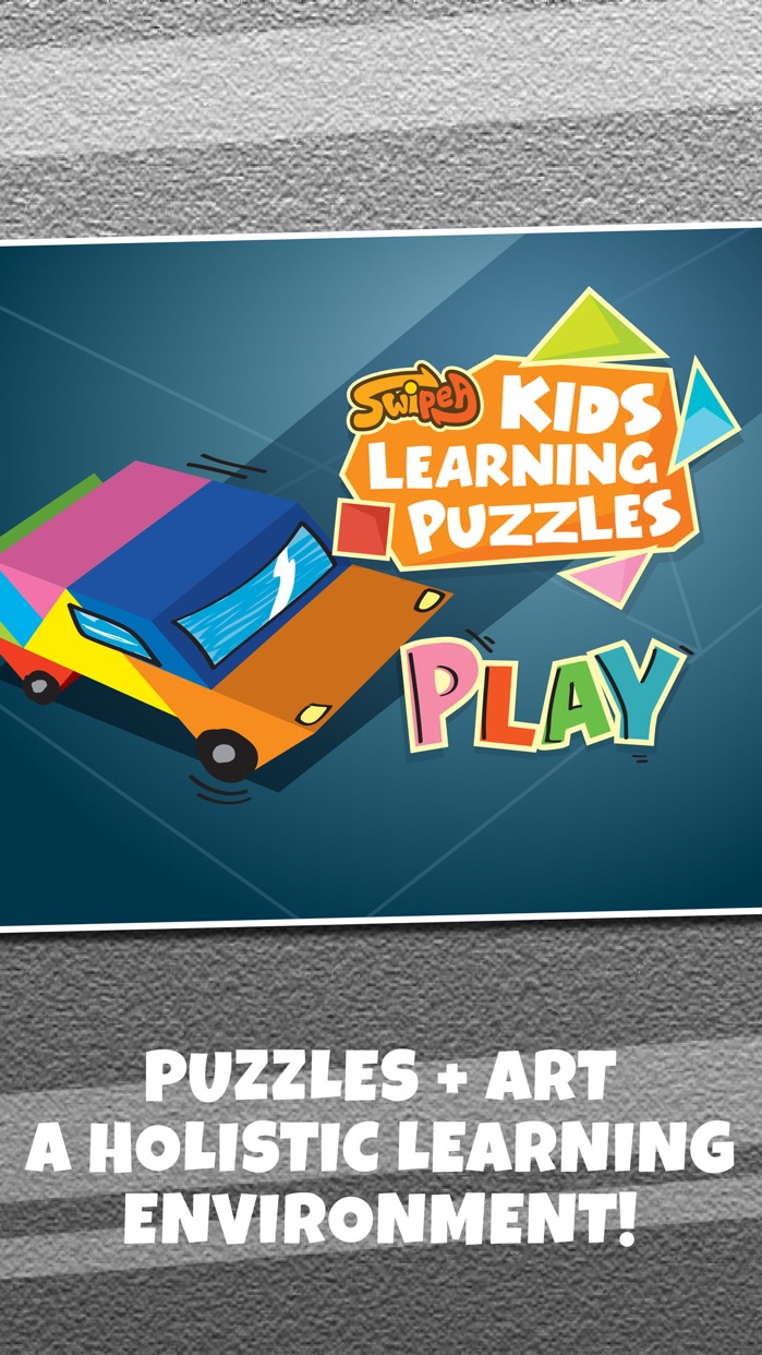 Kids Learning Puzzles: Transport and Vehicle Tiles Screenshot