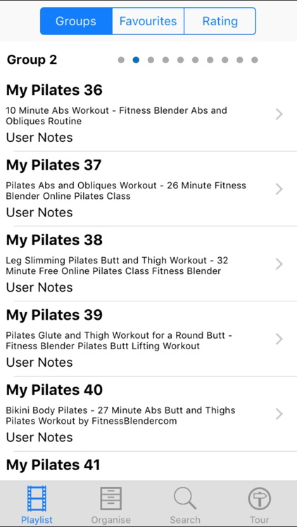 My Pilates screenshot-1