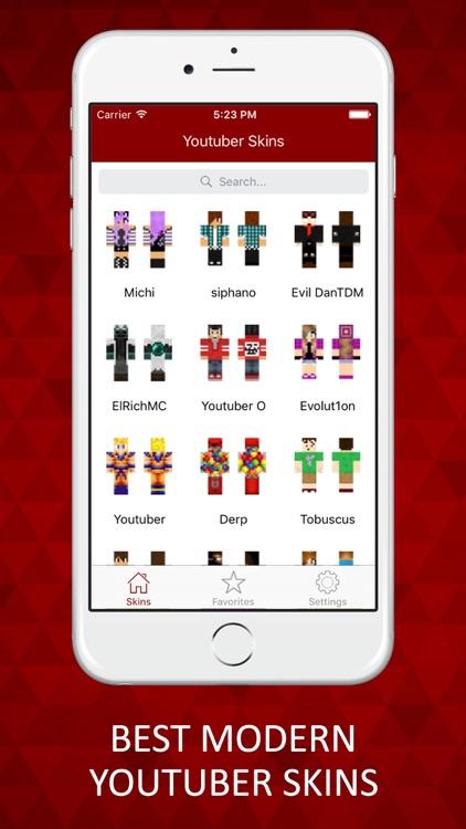 Modern Youtuber Skins Lite For Minecraft PE PC By Paritaben Makadiya - Skins para minecraft pe youtuber