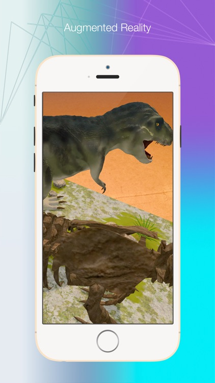 Logie T. Rex Augmented Reality