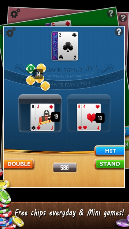 Blackjack 21 Free+ screenshot-3