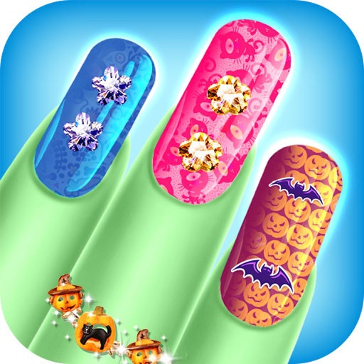 monster nail art nail design - Beauty Nail Art Salon iOS App