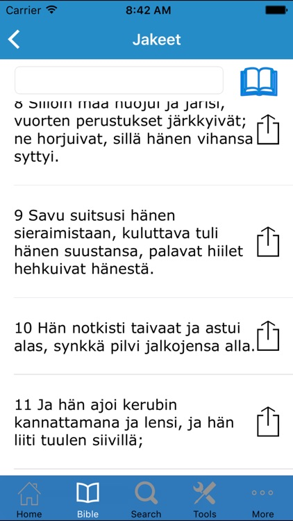 Pyhä Raamattu (Bible in Finnish) screenshot-4