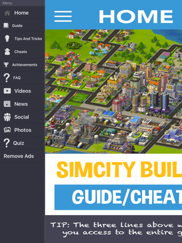 Companion Guide & Cheats For SimCity BuildIt : by