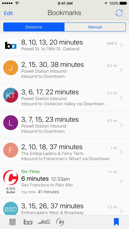 Routesy - Real-Time Bay Area Transit Predictions