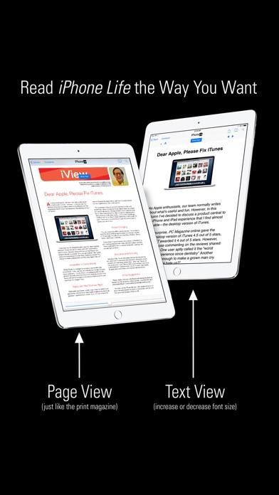 Iphone Life Magazine review screenshots