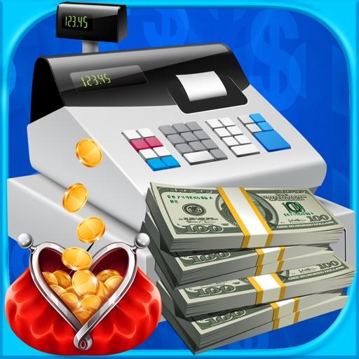 Cash Register Simulator - ATM, Money & Credit Card Bank Games FREE