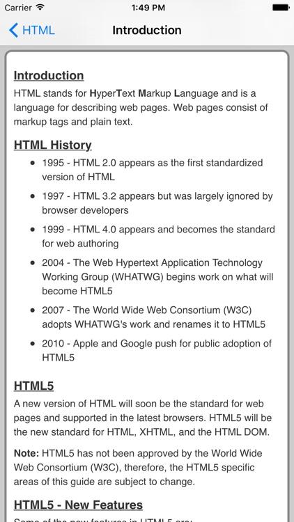 HTML Pro Quick Guide