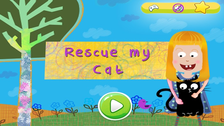 Rescue My Furry Cat - A virtual kitty pet animal rescue game