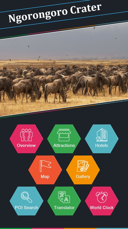 Ngorongoro Crater Tourism Guide screenshot-1