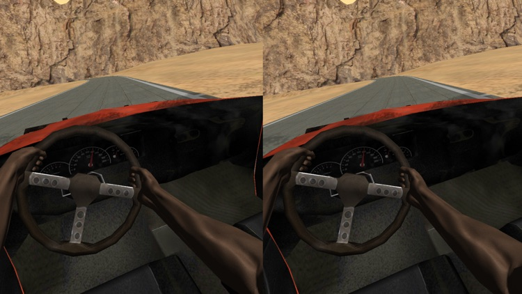 VR Car Driving Simulator for Google Cardboard