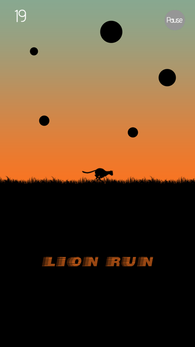 Lion Run - Rescue Mission screenshot one