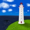 Lighthouse by the Sea ~ an ever-changing weather scene for fun, meditation or sleep