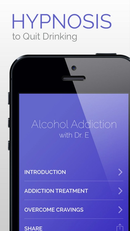 Alcohol Addiction Hypnosis Treatment - Quit Drinking Now screenshot-1