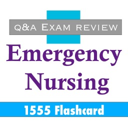 Emergency Nursing Exam review 1555 Flashcard
