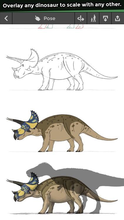 Pose & Draw Dinosaurs