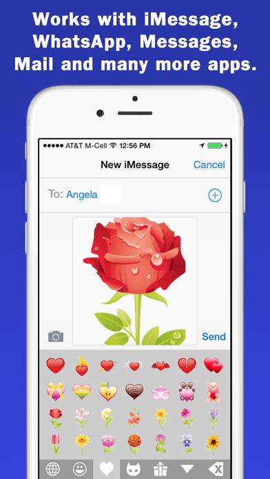 Smileys & Emoji Keyboard - Supersized GIFs Edition screenshot three