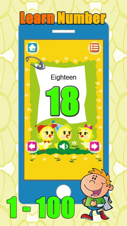 Number And Counting From 1 To 100 For Preschoolers