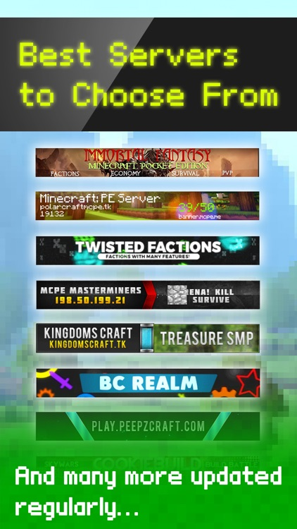 Factions Multiplayer For Minecraft Pe Best Faction Servers On Your Keyboard For Minecraft Pocket Edition By Bo Kim