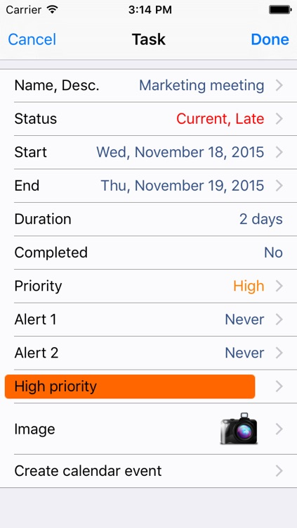 Task and Cal : Easily Manage your Tasks and Calendar screenshot-4