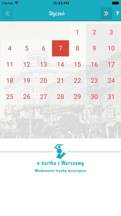 e-kartka z Warszawy screenshot four