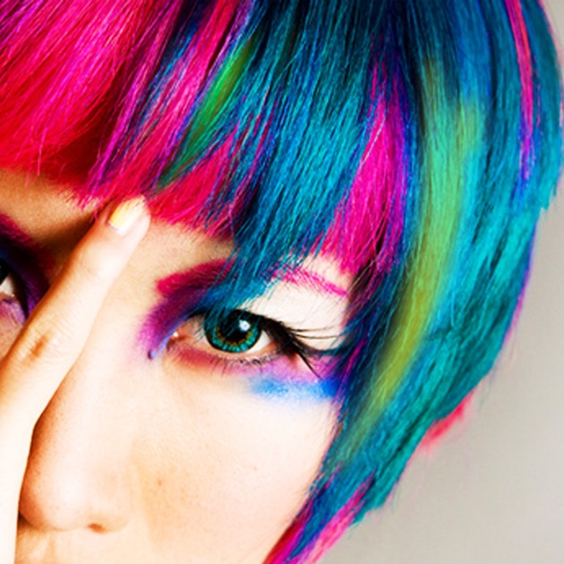 Hair Color Changer Recolor Booth To Dye Change Beautify - Hairstyle color pic