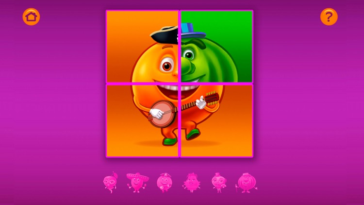 Merry Cubes HD - 3d cube fruit puzzles to develop fine motor skills