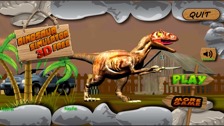 Dinosaur Simulator 3D Free screenshot-2