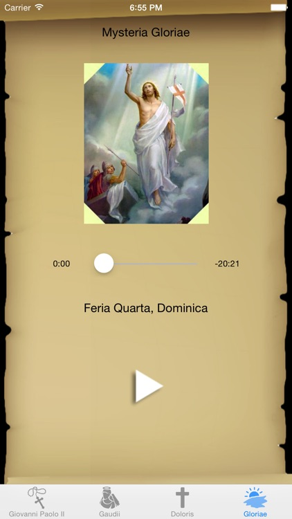 Interactive Rosary with St. John Paul II in Latin screenshot-4