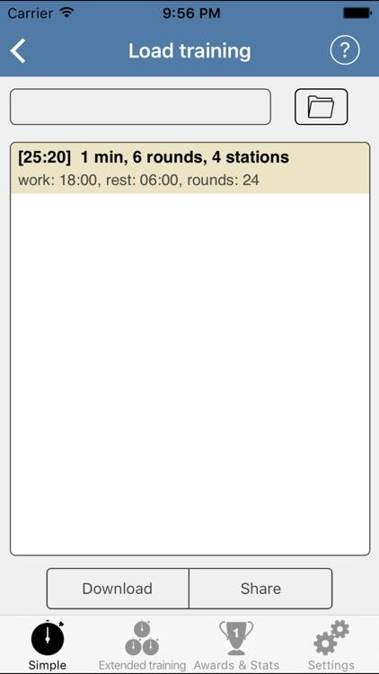 HIIT Interval Training Timer - training timer screenshot-4