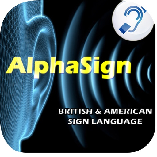 AlphaSign - Learn The American & British Sign Language Alphabet