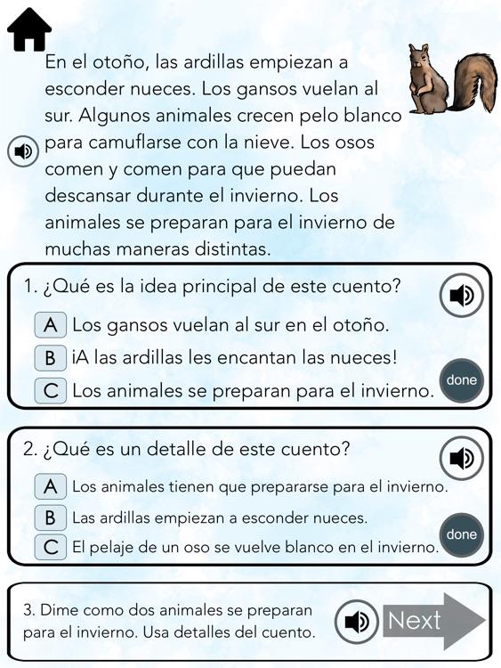 Spanish Reading ~ Main Idea