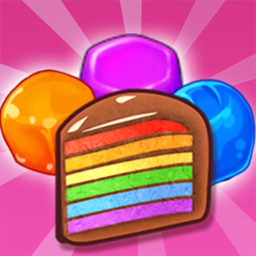 Cake Yummy Sweet Matching iOS App
