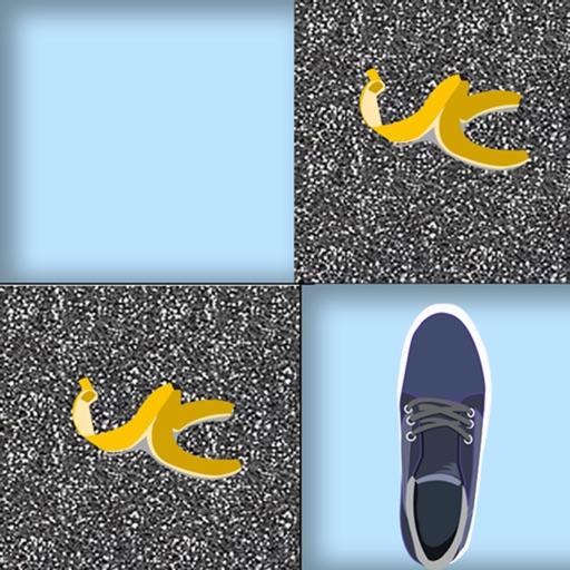 Avoid The Banana Peel - cool block tile running game icon