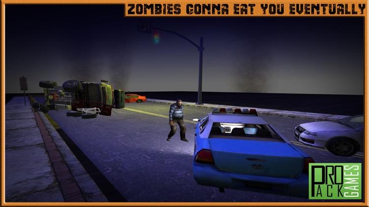 Zombie Highway Apocalypse Shooter - Shoot and kill the walking dead screenshot-3