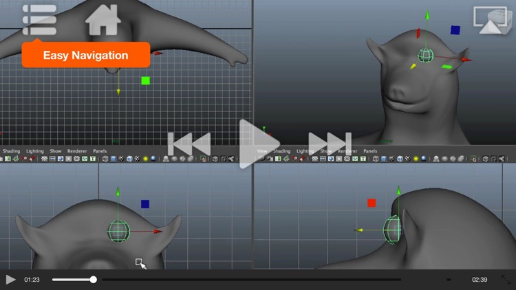 Modeling Course For Maya screenshot-3