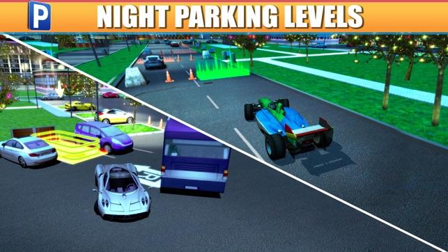 shopping mall car parking simulator gratuit jeux de voiture de course dans l app store. Black Bedroom Furniture Sets. Home Design Ideas