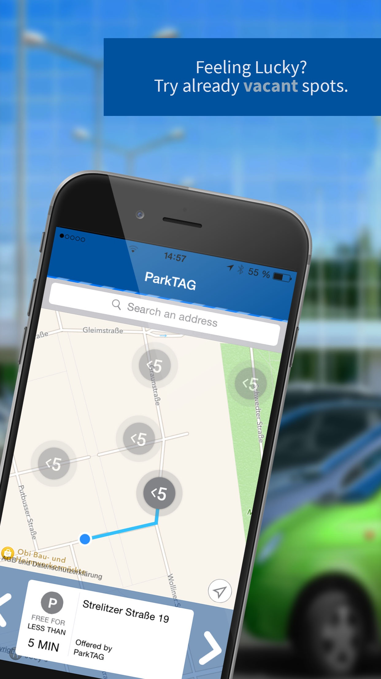 ParkTAG - social street parking Screenshot