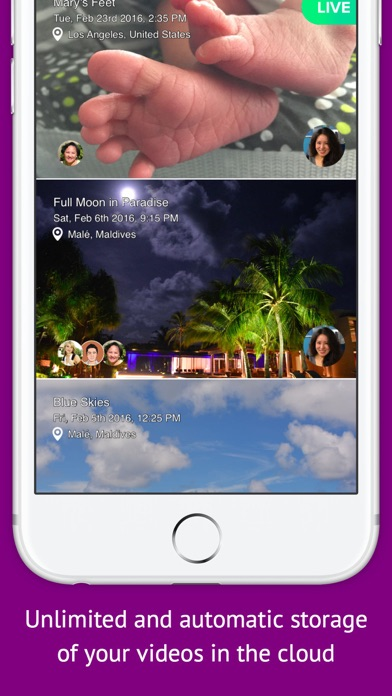 Closer Camera - Live Sharing and Record Videos With