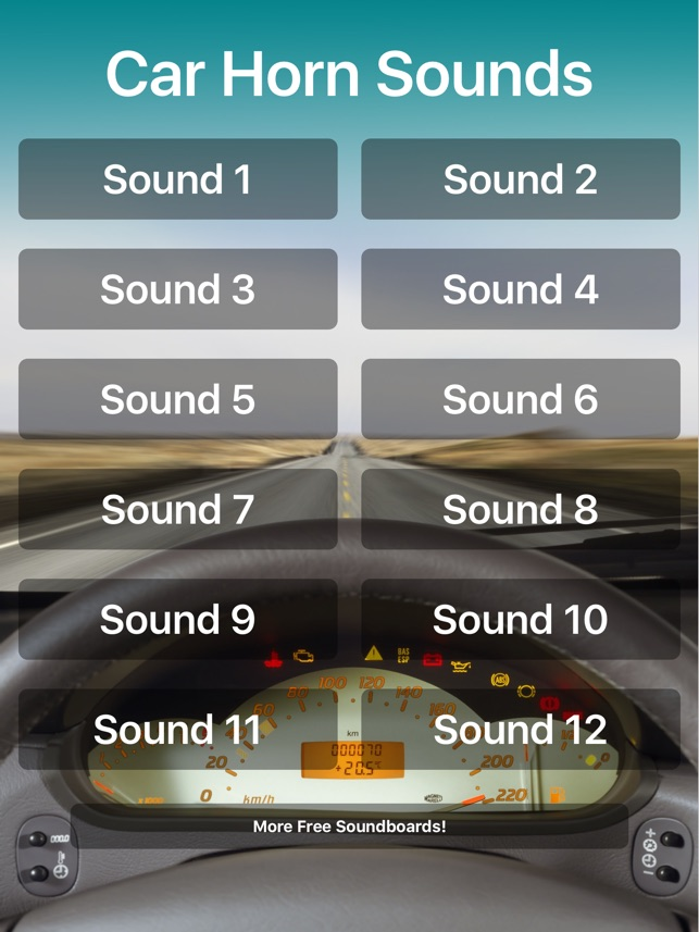 Car Horn Sounds on the App Store