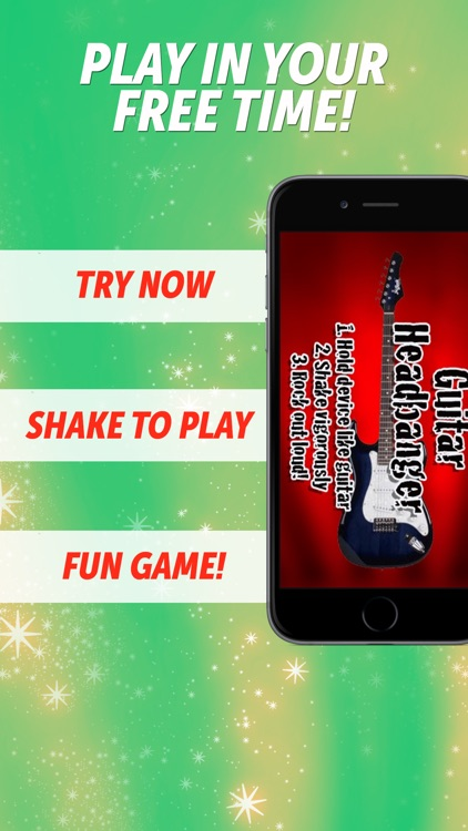 Guitar Headbanger--Be a Rock Arena Hero!