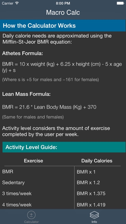IIFYM - Macro and Calorie Calculator screenshot-3
