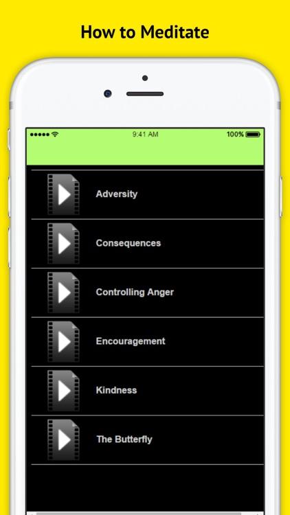 How to Meditate - Meditation Techniques screenshot-3