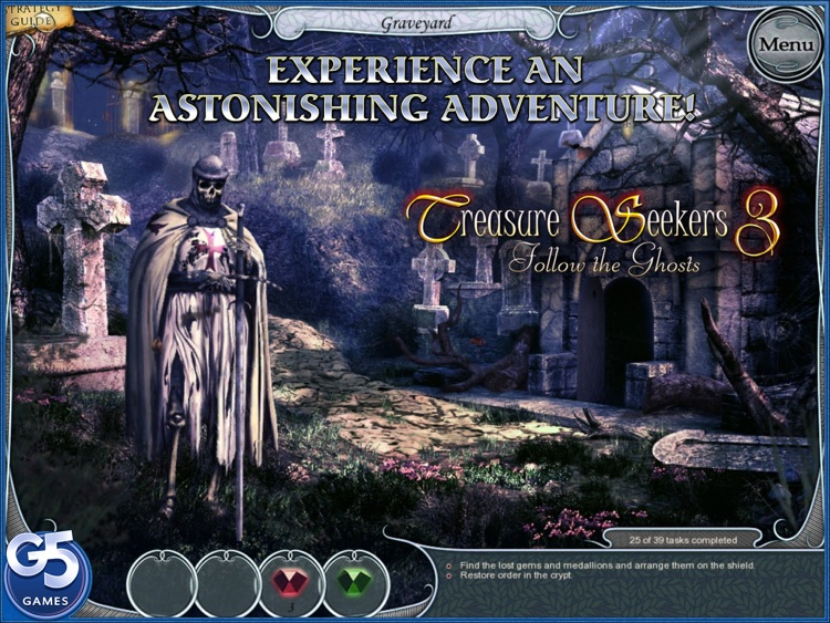 Treasure Seekers 3: Follow the Ghosts, Collector's Edition HD (Full) screenshot-0