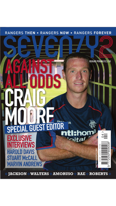 Seventy2 Magazine – The Glasgow Rangers Retro Magazine screenshot one