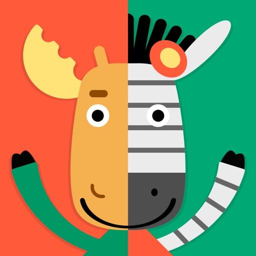 Moose & Zebra. Educational Magazine For Kids