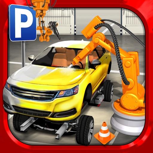 Car Factory Parking Simulator АвтомобильГонки ИгрыБесплатно