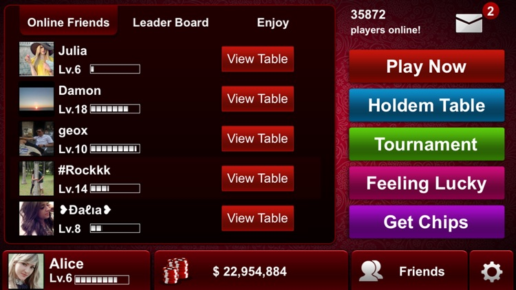 Live Holdem Poker screenshot-2