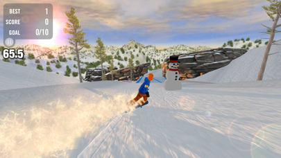 Crazy Snowboard screenshot four