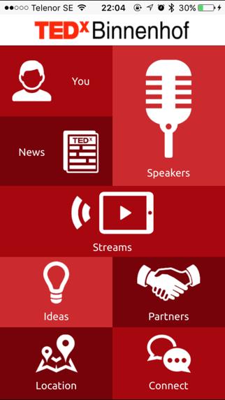 TEDxBinnenhof 2016 screenshot one